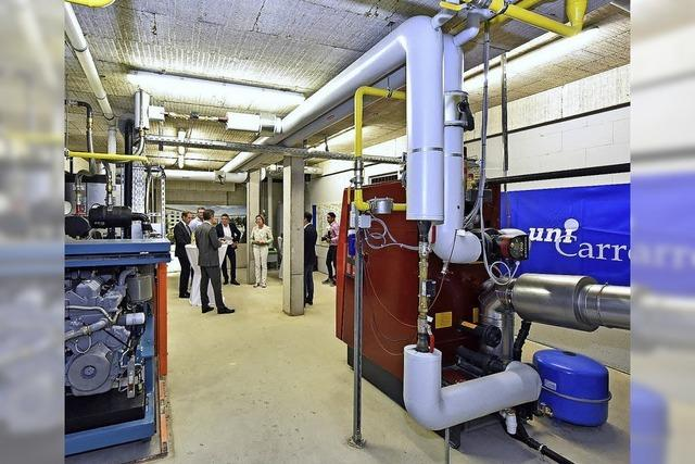 Neues Blockheizkraftwerk versorgt 141 Wohnungen mit Strom und Wärme