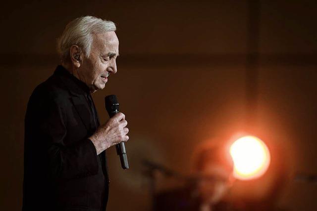 Frankreichs großer Chansonier Charles Aznavour ist tot