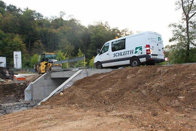 Ab 4. Oktober ist die B 3 von Welmlingen Richtung Efringen-Kirchen gesperrt