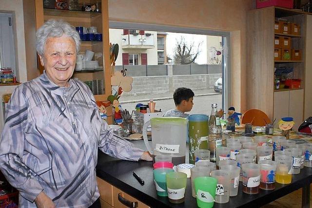 Gerharda Zimmermann kümmert sich um Spielplätze