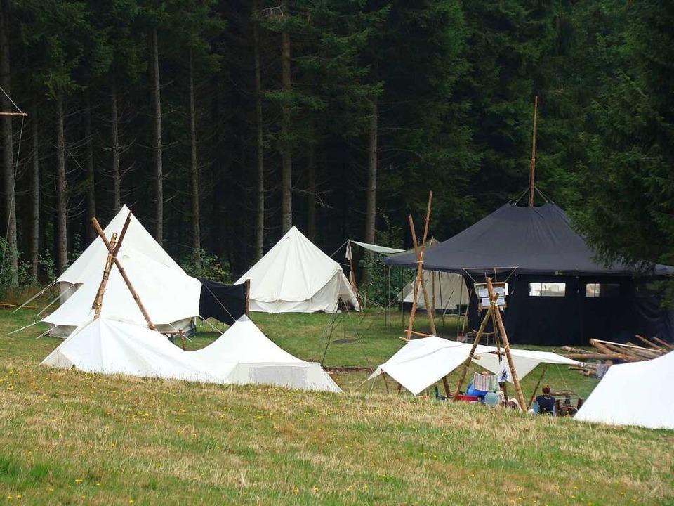 Beim Camp der Royal Rangers lebt man in der Natur.   | Foto: Royal Rangers