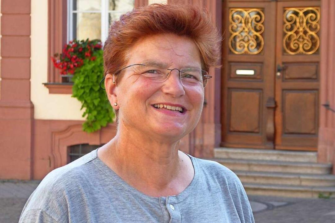 Frauke Brudy will OB werden.  | Foto: Helmut Seller