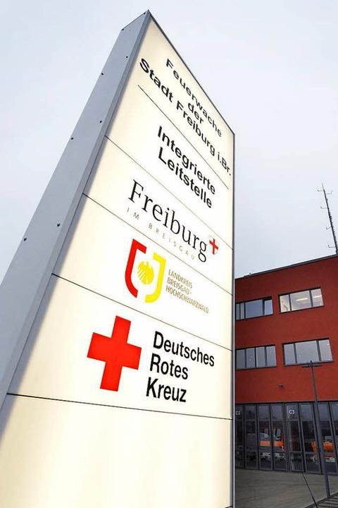 An der Hauptfeuerwache in der Eschholz...e Organisationen untergebracht werden.  | Foto: Michael Bamberger