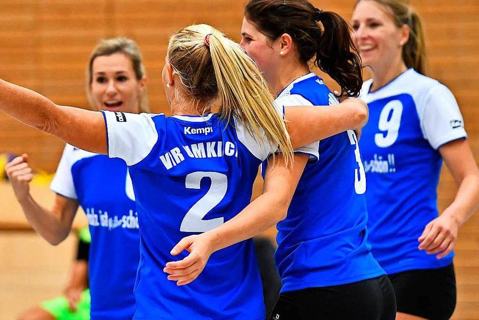 Impressionen rund um den 3:1-Erfolg des VfR Umkirch im südbadischen Volleyball-Derby der Dritten Liga gegen den TV Villingen. (Foto: Achim Keller)