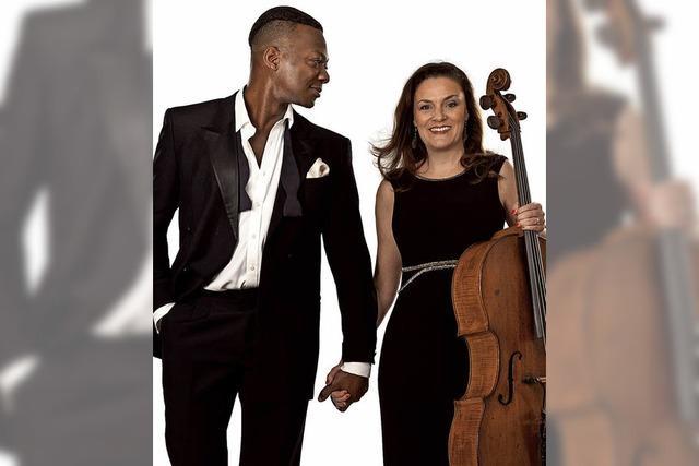 Britisches Duo Carrington-Brown mit Programm