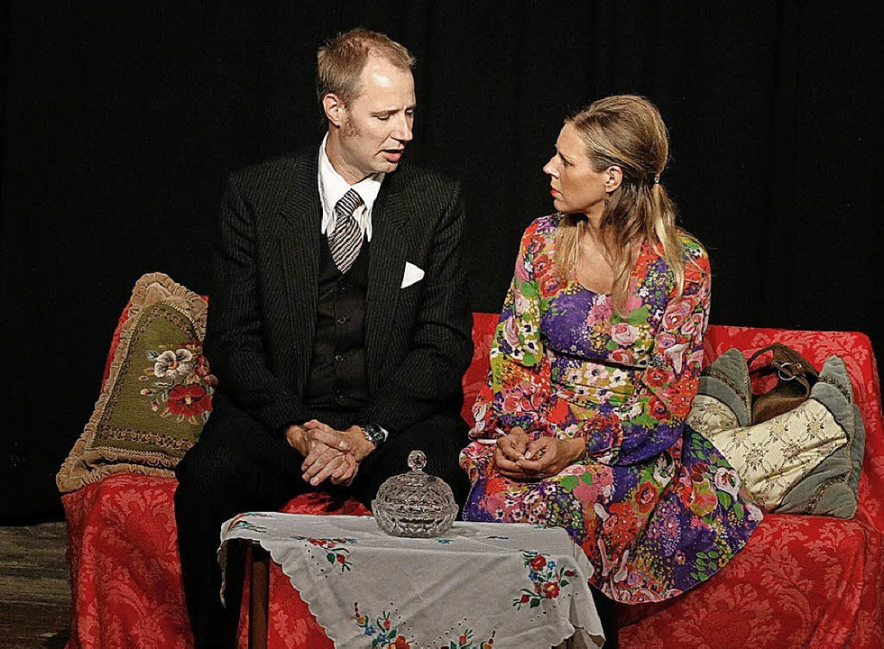 Daniela Heß und Matthias Göbbels bringen die KKW-Pläne in eine Ehekrise.  | Foto: Heidi Fößel