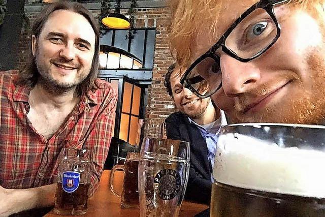 Auf ein Bier mit Ed Sheeran