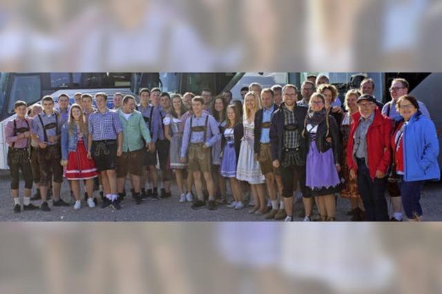 MGV Schutterbund besucht Cannstatter Wasen