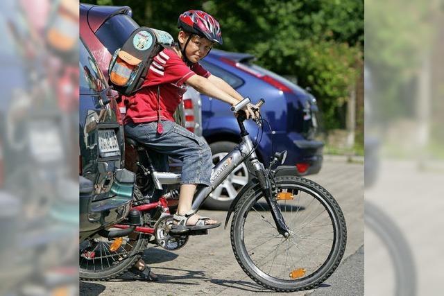Pläne für sicheren Fahrradschulweg
