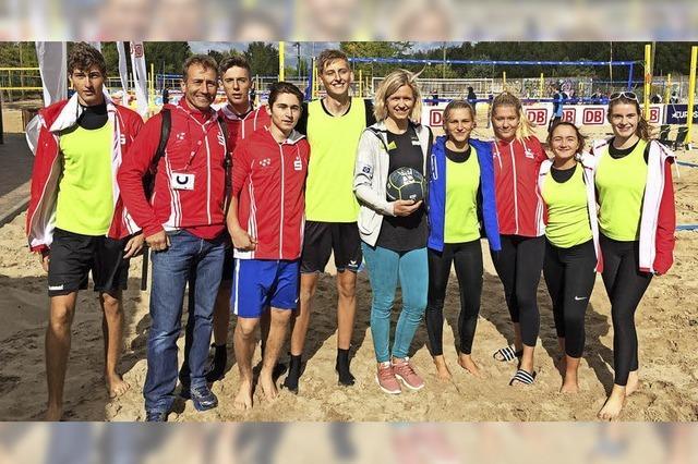 Rotteck-Volleyballer beim Bundesfinale