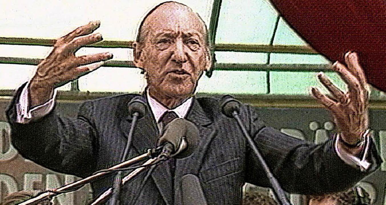 Kurt Waldheim 1986  | Foto: Salzgeber