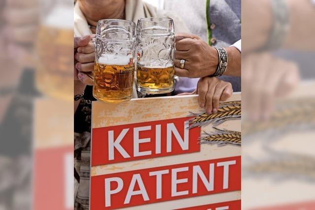 Ein Patent auf Braugerste