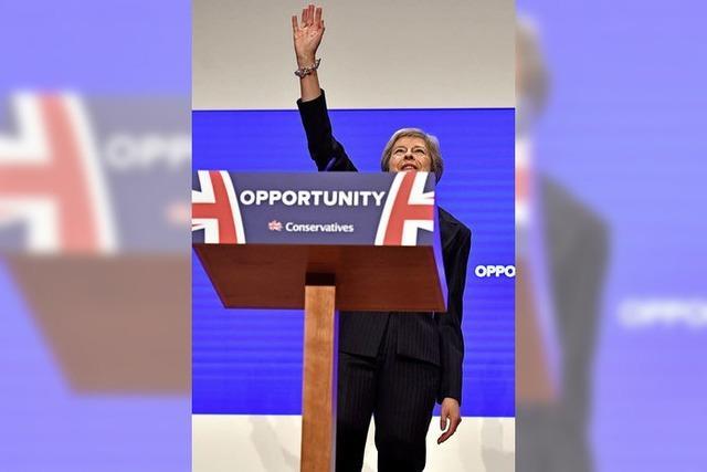 May will eine Brexit-Party feiern