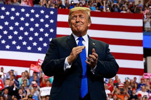 Trump verhöhnt Kavanaugh-Anklägerin Christine Blasey Ford