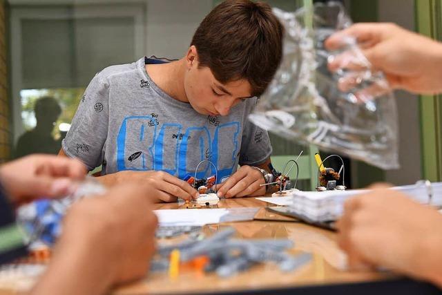 Im Schülerforschungszentrum Emmendingen wird getüftelt und programmiert