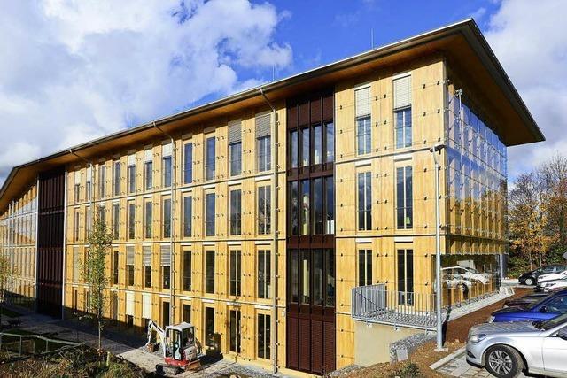Freiburger Stadtverwaltung will mehr Holzbau in der Stadt