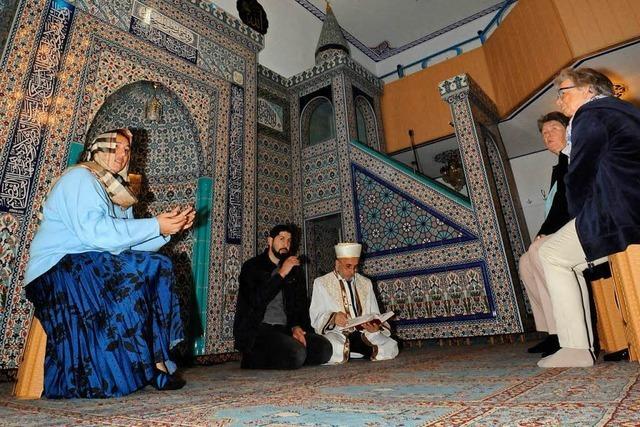 Diese Fragen beschäftigten die Besucher beim Tag der offenen Moschee