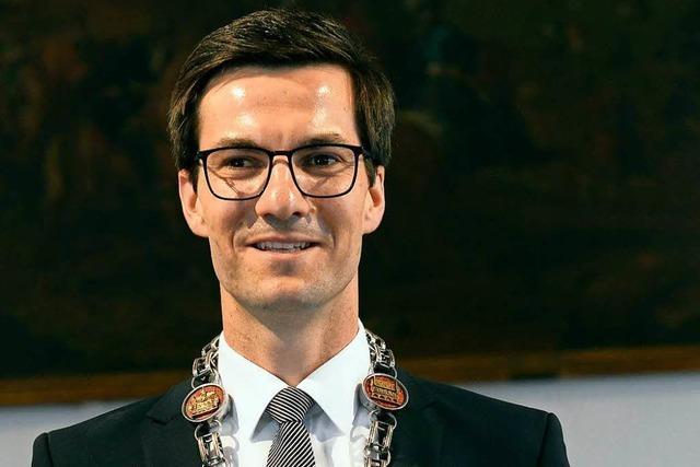 Martin Horn erhält den Narrenpreis der Breisgauer Narrenzunft