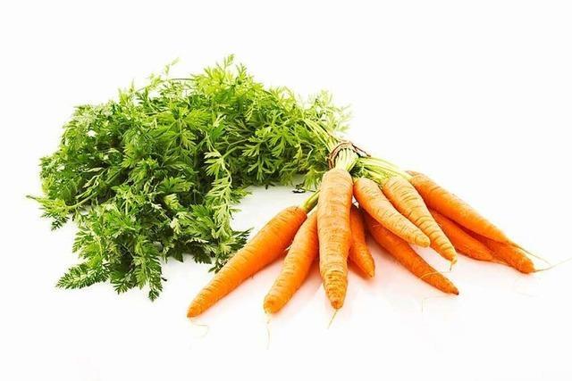 Knackiger Hautschützer: die Karotte