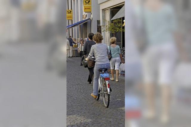 Fahrverbot für Radfahrer?