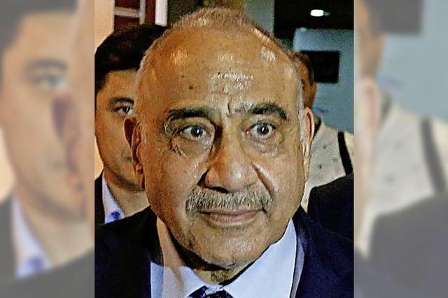 Ein Mann des Ausgleichs lenkt nun den Irak