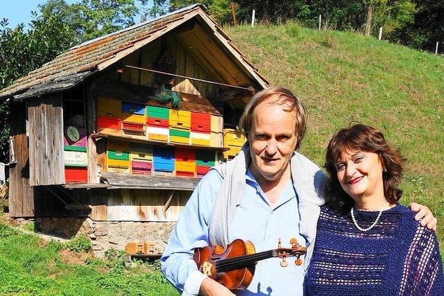 Star-Violinist Eckart Lorenzen kommt von Tel Aviv ins Kleine Wiesental