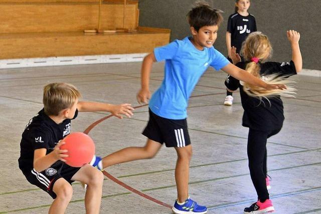 Handballer des TSV Alemannia Zähringen setzen auf die Jugend