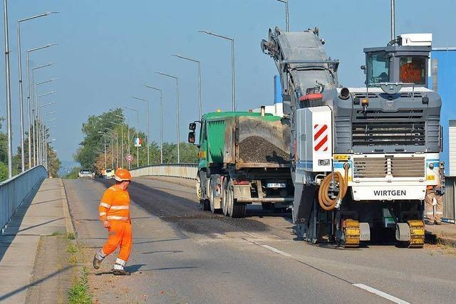 Palmrainbrücke wird halbseitig gesperrt