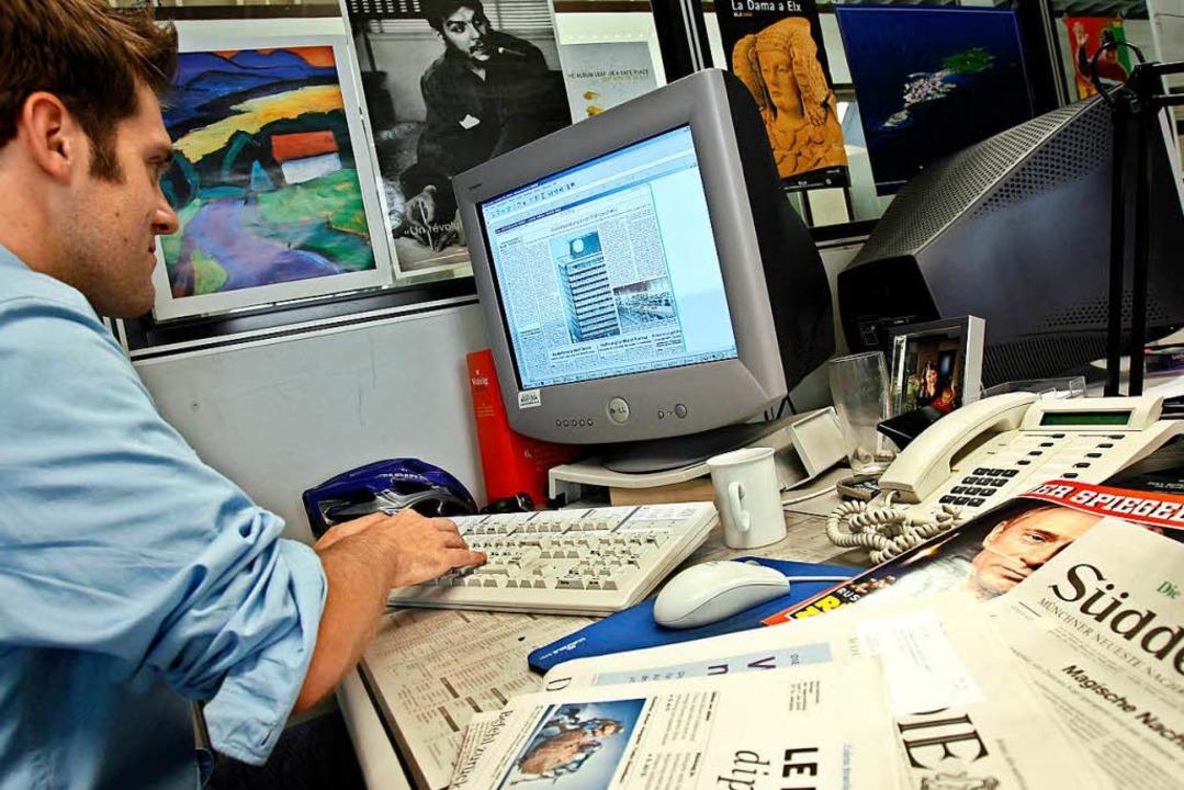 Journalisten sollten ihre Arbeit mehr erklären, findet Klaus Meier.  | Foto: Andreas Gebert