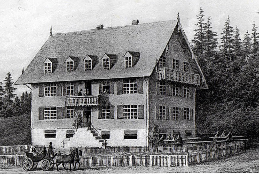 18 Fremdenzimmer hatte der Feldberger Hof in den  Anfangsjahren.  | Foto: Feldberger Hof