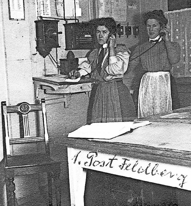 Die Posthilfestelle wies den  ersten T...n Deutschland, außerhalb Berlins, auf.  | Foto: Feldberger Hof