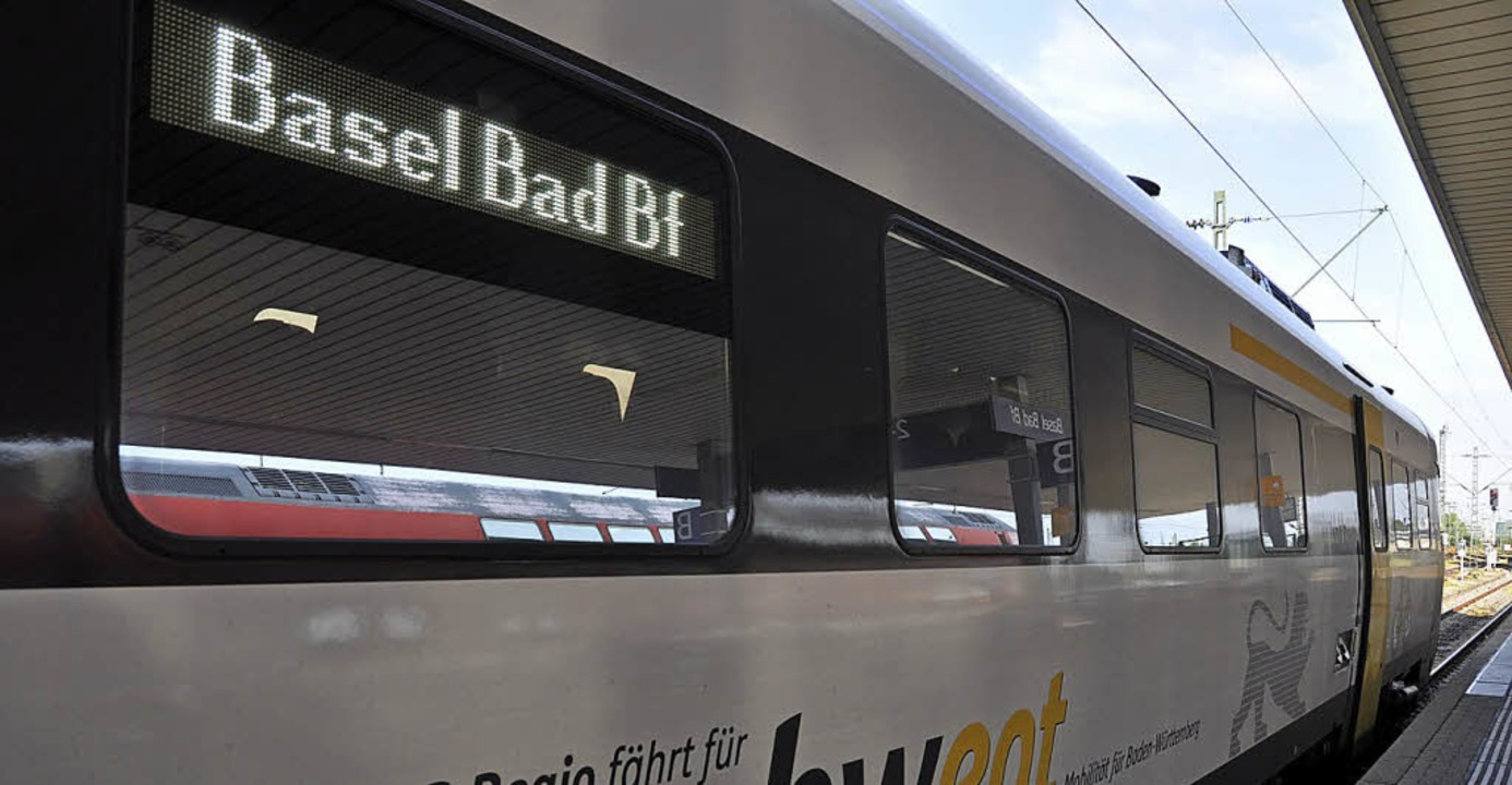 Züge in Basel sollen besser vernetzt werden.  | Foto: Archivfoto: Gramespacher