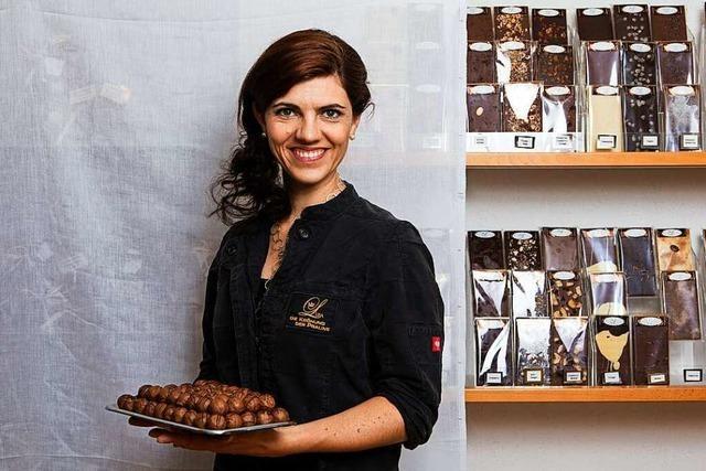 Lisa Rudiger kreiert in Titisee-Neustadt Pralinen und mehr