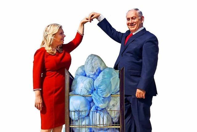 Israels First Lady lässt gerne auf Staatskosten in Luxushotels waschen