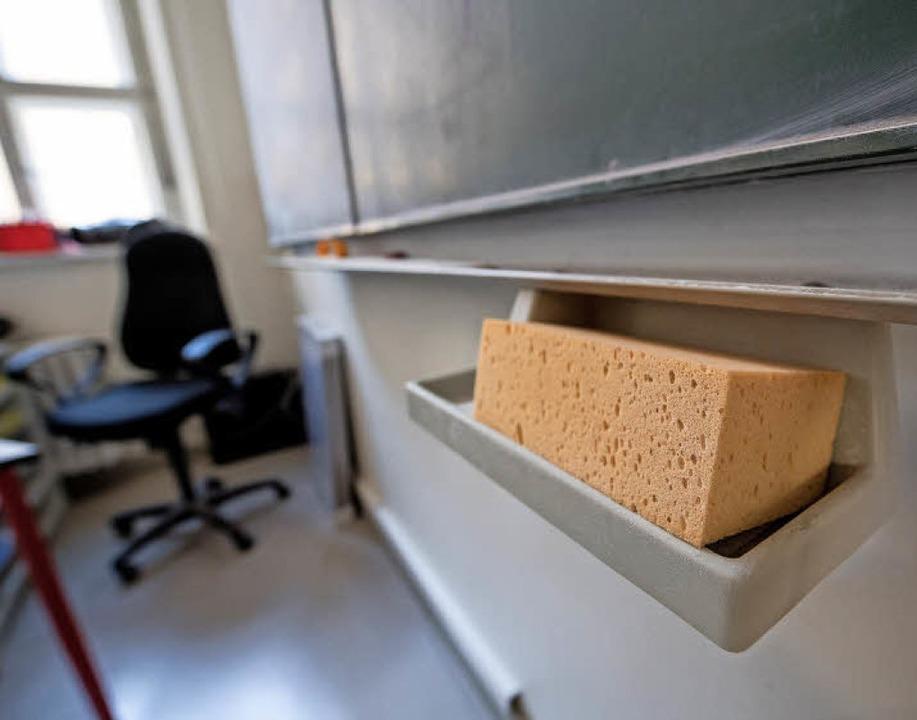 Tagsüber nehmen viele Lehrer den Stres...Herzrasen kommen, sagt Andreas Jähne.   | Foto:  DPA