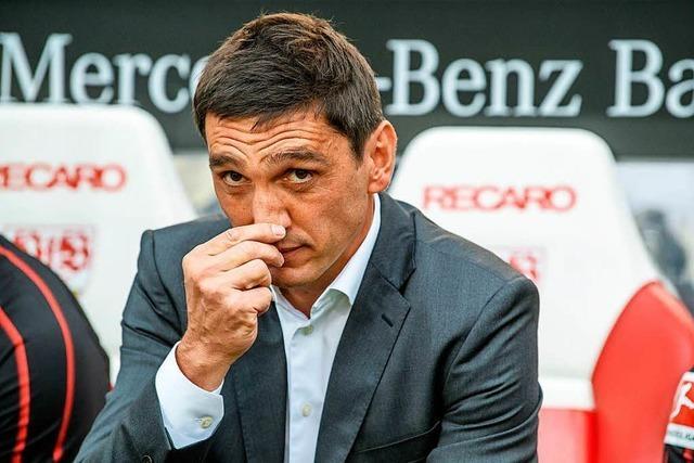 VfB Stuttgart trennt sich von Trainer Tayfun Korkut