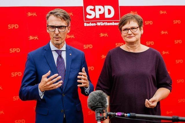 Kampf um SPD-Vorsitz in Baden-Württemberg