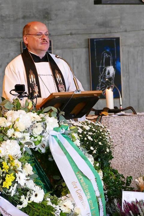 Pfarrer Johannes Buchenmüller  | Foto: Tanja Bury