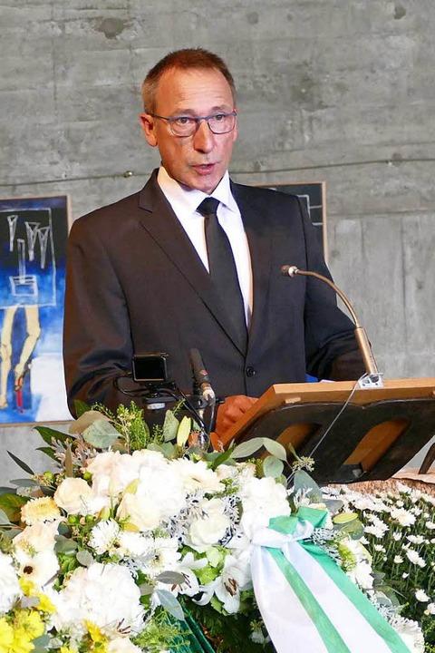 Feldbergs stellvertretender Bürgermeister Frank Link.  | Foto: Tanja Bury