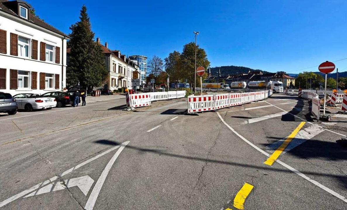 Die Anbindung  der Faulerstraße an Zub...ter anderem entsteht ein Kreisverkehr.  | Foto: Michael Bamberger