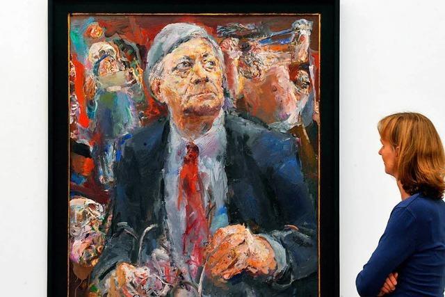 Wie ein Ex-BRD-Kanzler sich von einem DDR-Künstler abbilden ließ