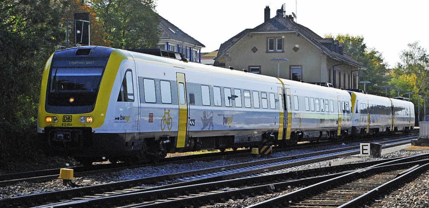 Die SPD fordert stärkere Anstrengungen...s Bild entstand am Bahnhof Rheinfelden  | Foto: Thomas Loisl Mink