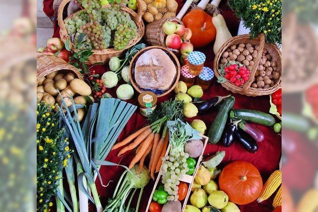 Erntedank – Ein altes Fest regt zum Nachdenken über Nahrung und Ernährung an
