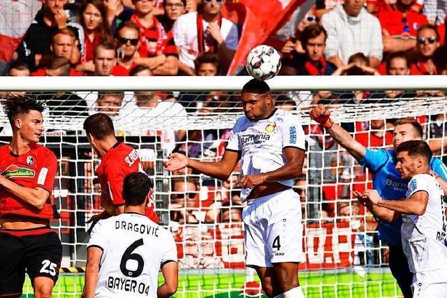 SC Freiburg gegen Bayer Leverkusen: Ein Spiel mit wenig Glanzpunkten