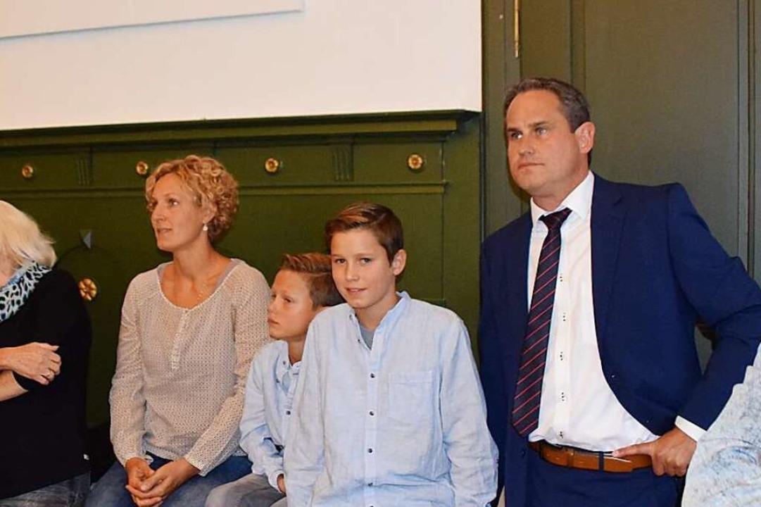 Überraschungskandidat Dirk Harscher wa...überraschend zum führenden Kandidaten.  | Foto: Stefan Ammann