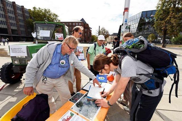 So reagieren die Freiburger auf das mögliche Bürgerbegehren gegen Dietenbach