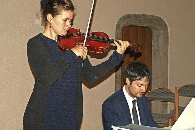 Verzaubert von Klavier und Violine