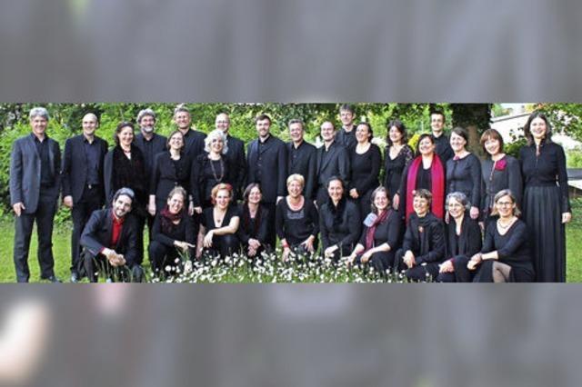 Mit dem John Sheppard Ensemble in Hinterzarten