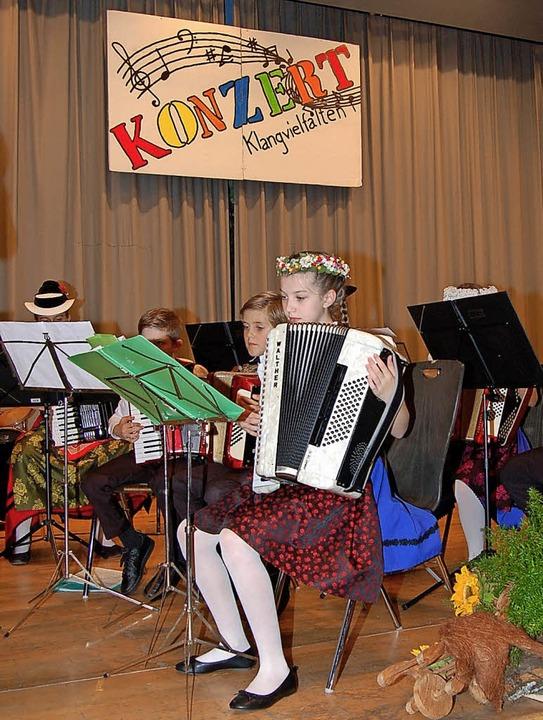 Das Kinder- und Jugendensemble begeisterte die Gäste.   | Foto: Ringwald