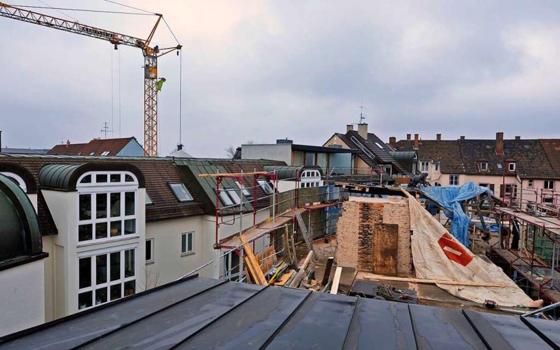 Für die Feststellung das Ausbau- und V...tenzials erhält die Stadt 100000 Euro.  | Foto: M. Bamberger